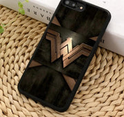 Wonder Woman logo Phone case for iPhone/Samsung. - Adilsons