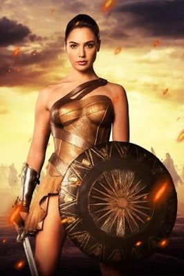 Wonder Woman poster for home. - Adilsons