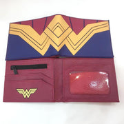 Wonder Woman PU short wallet. - Adilsons