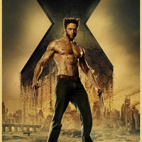 X-Men home decoration poster. - Adilsons