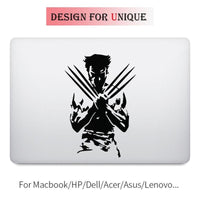 X-Men Wolverine Logan vinyl sticker. - Adilsons