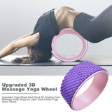 Fitness Equipment Yoga Wheel Authentic Yoga Equipment Dharma Wheel Thin Back Training Pilates Circle Yoga Wheel Supplies Multi-Function Massage Yoga Wheel