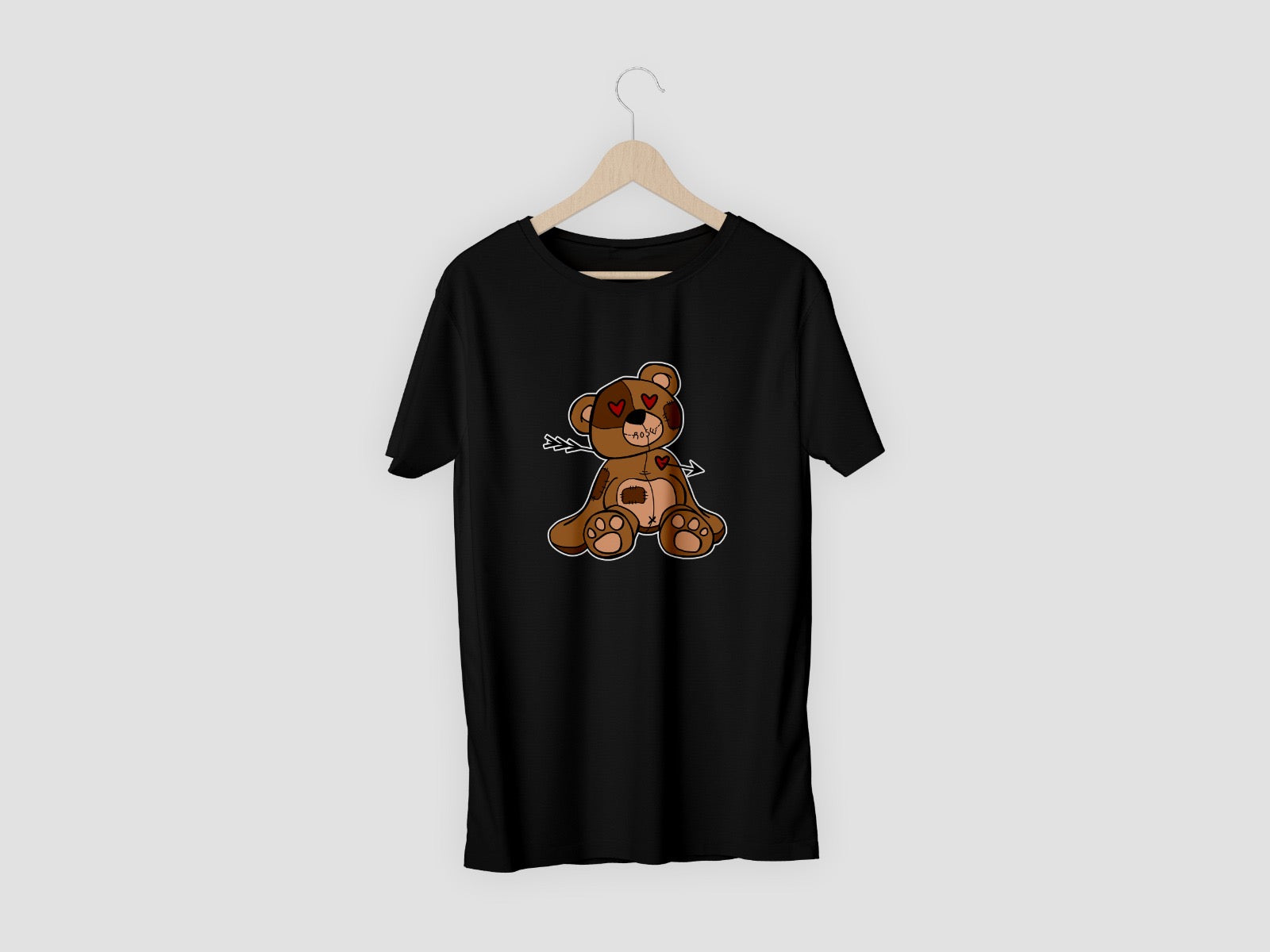 TEDDY CUPID SHOT TSHIRT