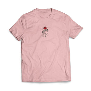 HAND PICKED ROSE TSHIRT