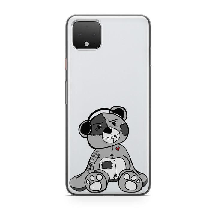 TEDDY BEATS CLEAR PHONE CASE