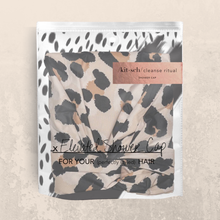 Load image into Gallery viewer, kitsch leopard shower cap