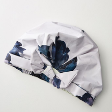 Load image into Gallery viewer, kitsch floral shower cap