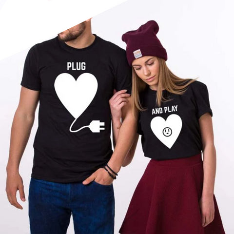 TShirt Couple<br> Plug / And Play