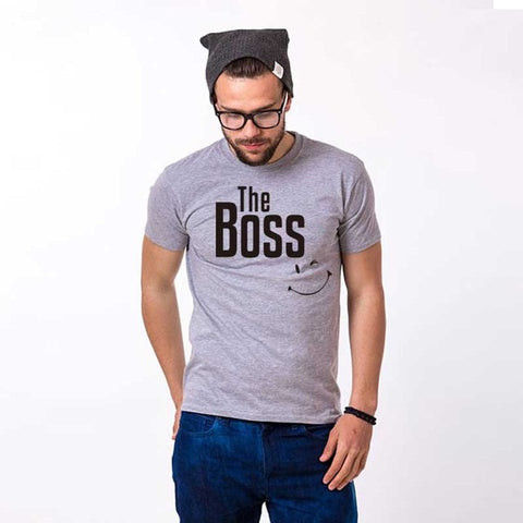 T-Shirt Couple<br> The Boss & The Real Boss