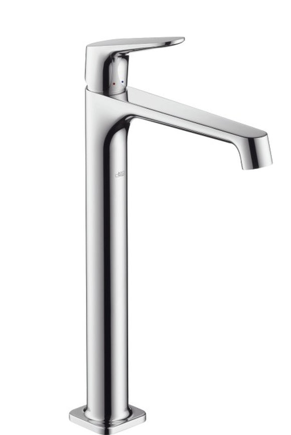 AXOR CITTERIO M SINGLE LEVER HIGHRISER BASIN MIXER TAP FOR WASH BOWLS WITH WASTE SET