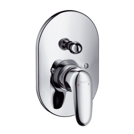 METRIS E- BATH MIXER - CONCEALED INSTLLATION -  CHROME