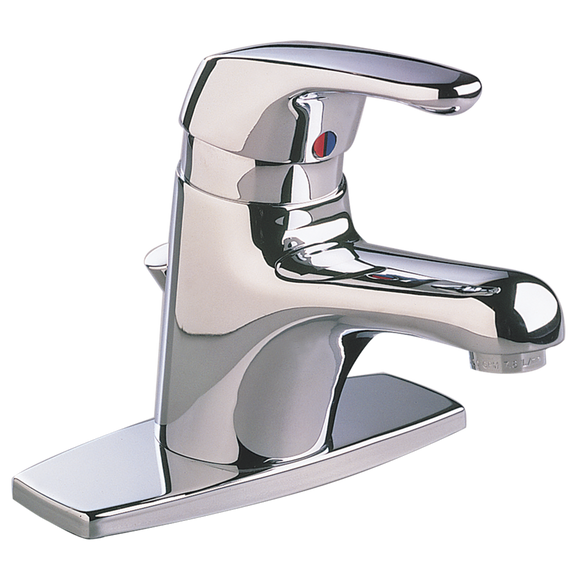 SEVA 1-HANDLE MONOBLOCK BATHROOM FAUCET