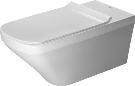 DURASTYLE TOILET WALL MOUNTED DURAVIT RIMLESS (WITHOUT SEAT COVER)