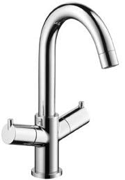 TALIS - BASIN MIXER SINGLE HOLE LEVER HANDLE SWIVEL SPOUT.WITH POP