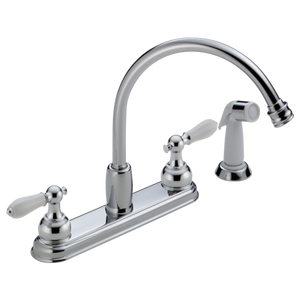 NEO STYLE TWO HANDLE KITCHEN FAUCET LESS HANDLE
