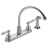NEO STYLE TWO HANDLE KITCHEN FAUCET - LESS HANDLES