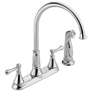 CASSIDY- TWO HANDLE KITCHEN FAUCET WITH SPRAY