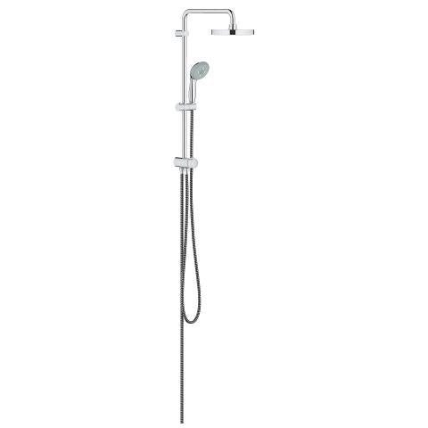 TEMPESTA SYSTEM 200 FLEX SHOWER SYSTEM WITH DIVERTER FOR WALL MOUNTING