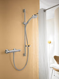 CROMA 100- SHOWER SET MULTI WITH SHOWER BAR 90 CM AND SOAP DISH