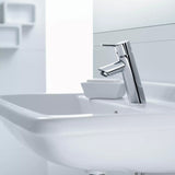 TALIS SINGLE LEVER BASIN MIXER 80 WITH POP-UP WASTE SET
