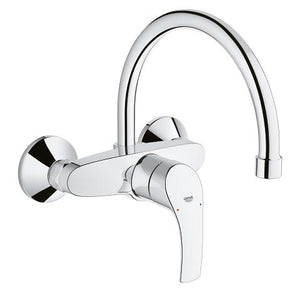 EUROSMART- SINGLE-LEVER SINK MIXER 1/2