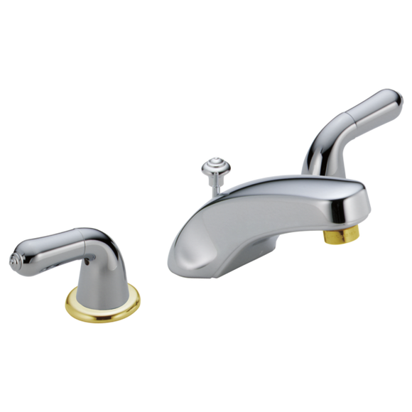 CLASSIC TWO HANDLE WIDESPREAD LAVATORY FAUCET - LESS HANDLES