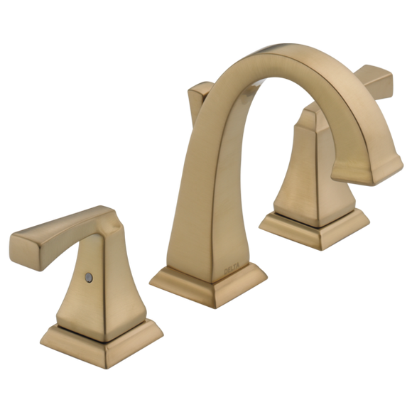DRYDEN TWO HANDLE WIDESPREAD BATHROOM FAUCET
