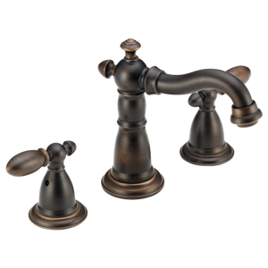 VICTORIAN TWO HANDLE  WIDESPREAD  BATHROOM FAUCET