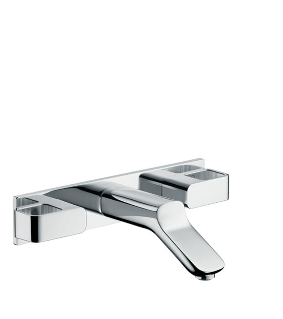 AXOR URQUIOLA 3-HOLE BASIN MIXER FOR CONCEALED INSTALLATION WALL-MOUNTED WITH SPOUT 168 MM