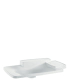 AXOR BOUROULLEC BUILT-IN WASHBASIN 866 X 530 MM WITH 2 SHELVES