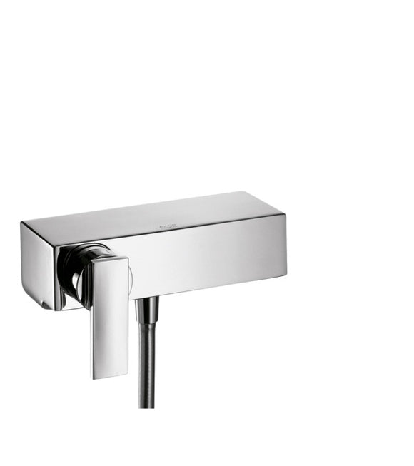 AXOR CITTERIO- SINGLE LEVER SHOWER MIXER FOR WALL MOUNTING , PLATENUIM