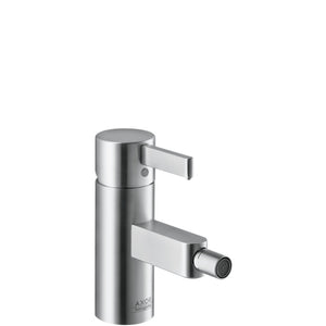 AXOR STEEL - SINGLE LEVER BIDET MIXER DN15
