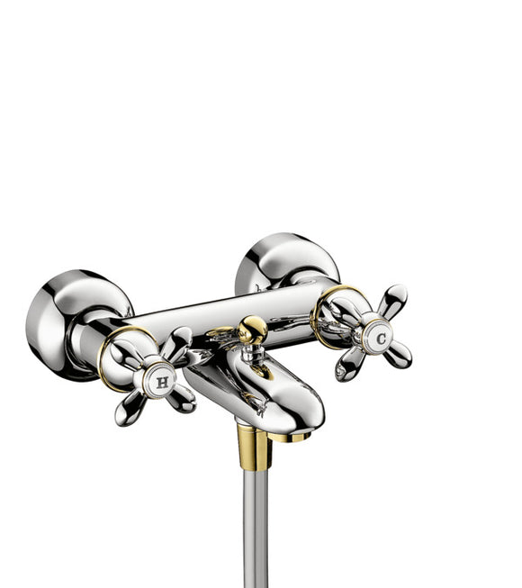 AXOR CARLTON - 2-HANDLE BATH MIXER FOR EXPOSED INSTALLATION