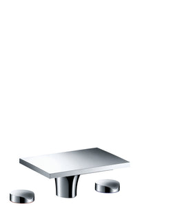 AXOR MASSAUD 3-HOLE BASIN MIXER 80 WITH POP-UP WASTE SET