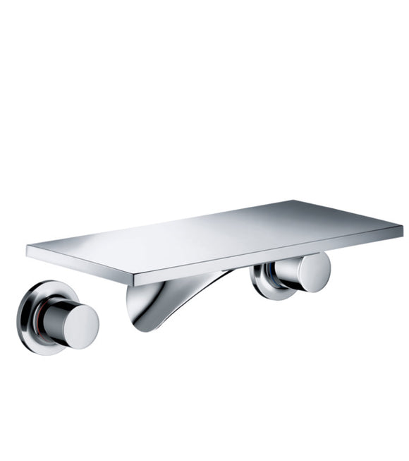 AXOR MASSAUD 3-HOLE BASIN MIXER FOR CONCEALED INSTALLATION WALL-MOUNTED WITH SPOUT 170 MM