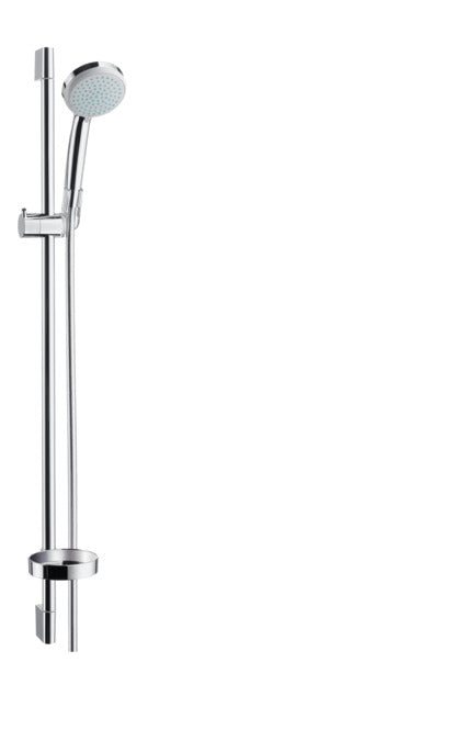CROMA 100 SHOWER SET VARIO WITH SHOWER BAR 90 CM AND SOAP DISH