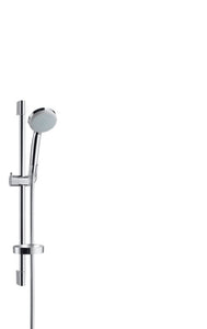 CROMA 100 SHOWER SET VARIO WITH SHOWER BAR 65 CM AND SOAP DISH
