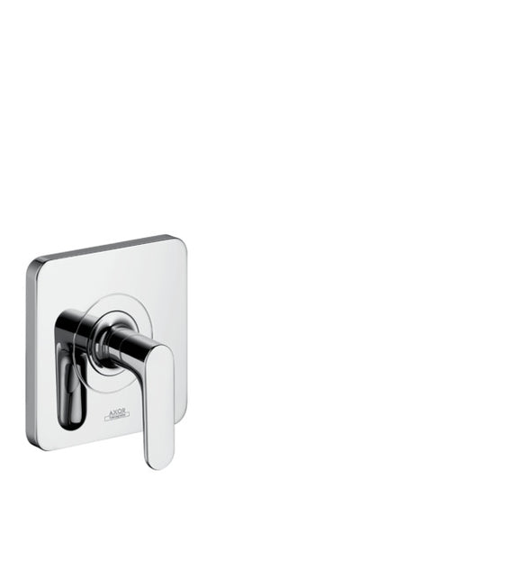 AXOR CITTERIO M - SHUT-OFF VALVE FOR CONCEALED INSTALLATION WITH LEVER HANDLE