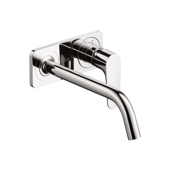 AXOR CITTERIO M- BASIN MIXER FOR CONCEALED INSTALLATION WITH PLATE