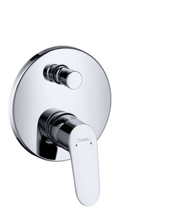 FOCUS SINGLE LEVER BATH MIXER FOR CONCEALED INSTALLATION  FOR FINISING SET