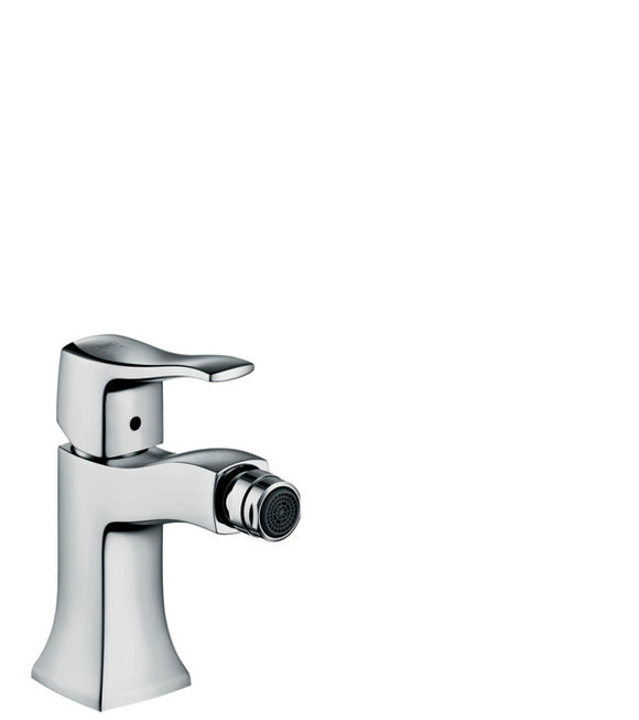 METRIS CLASSIC SINGLE LEVER BIDET MIXER WITH POP-UP WASTE SET