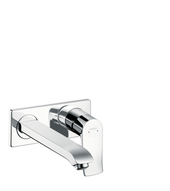 METRIS SINGLE LEVER BASIN MIXER FOR CONCEALED INSTALLATION WALL-MOUNTED