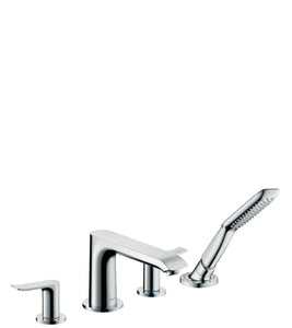 METRIS- - 4-HOLE RIM MOUNTED BATH MIXER