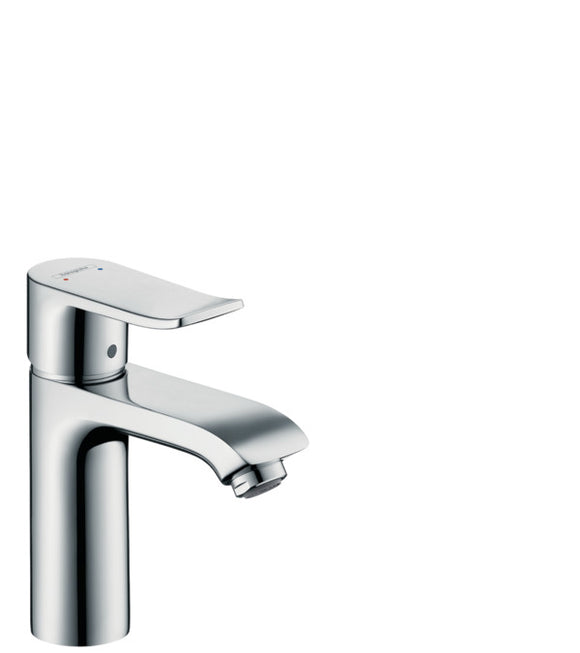 METRIS SINGLE LEVER BASIN MIXER 110 WITH POP-UP WASTE SET