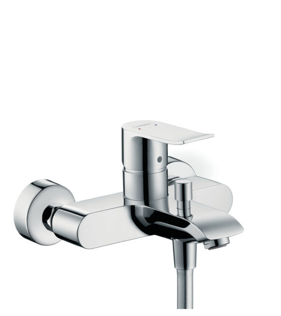 METRIS SINGLE LEVER BATH MIXER FOR EXPOSED INSTALLATION