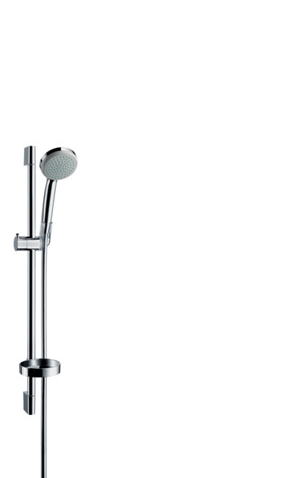 CROMA 100 SHOWER SET MONO WITH SHOWER BAR 65 CM AND SOAP DISH