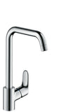 FOCUS SINGLE LEVER KITCHEN MIXER 260, 1JET
