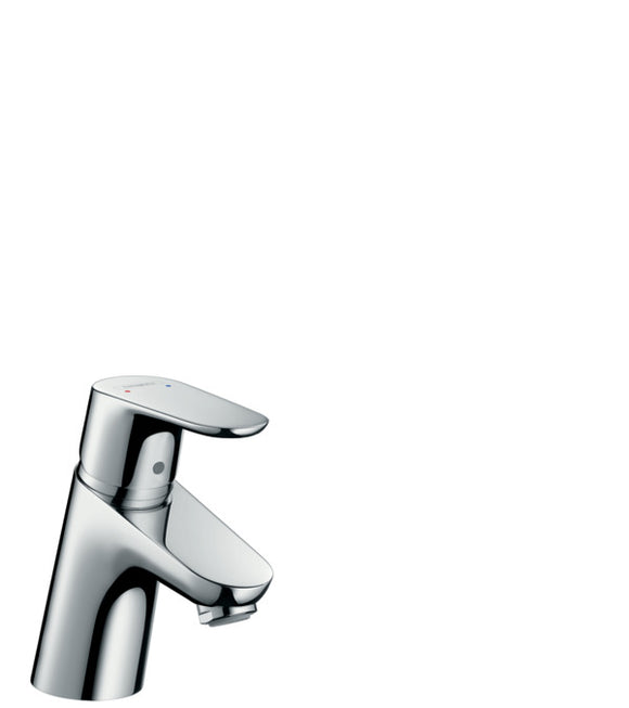 FOCUS SINGLE LEVER BASIN MIXER 70 WITH POP-UP WASTE