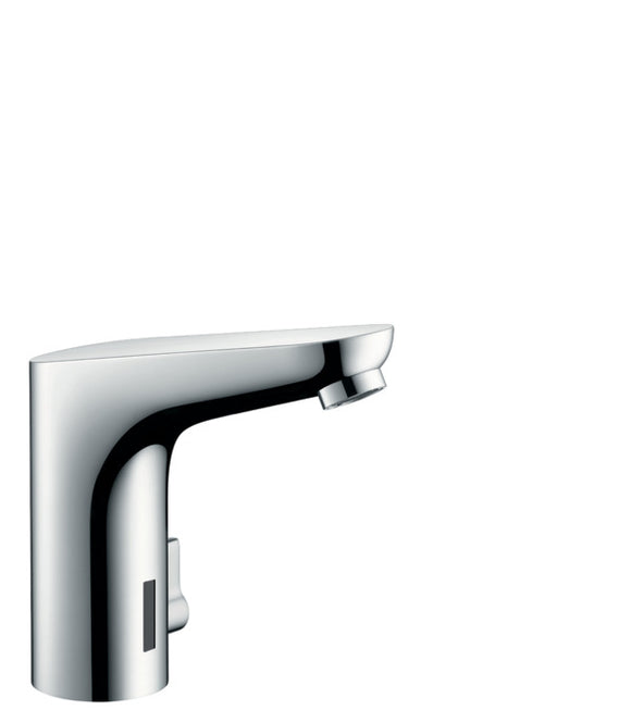 FOCUS- ELECTRONIC BASIN MIXER WITH TEMPERATURE CONTROL MAINS CONNECTION 230 V