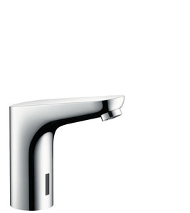 FOCUS ELECTRONIC BASIN MIXER WITH TEMPERATURE PRE-ADJUSTMENT MAINS CONNECTION 230 V